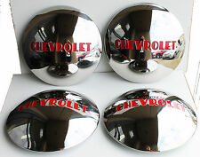 1947 48 49 50 51 53 Chevy TRUCK Stainless Hub Caps 4 for 1/2 ton w stock wheels