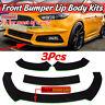 Car Front Bumper Lip Spoiler Splitter for Ford Focus MK3 MK2 TT RS ST GREEN-LINE