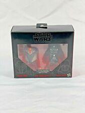 Star Wars Black Series Titanium Helmets Darth Vader Sabine Wren 08 HTF