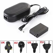 AC Power Adapter CHarger for ACK-E12 + DR-E12 Coupler Canon EOS M M100 M10