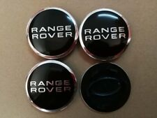 4 Centre de roue cache moyeu logo emblème jante insigne Range Rover 63mm
