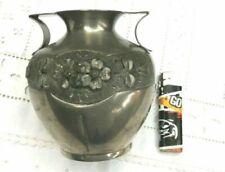 Vase de décoration Art déco argentés