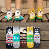 Womens Lady Girls Cartoon Dogs Stereoscopic Style Couple Socks Hosiery Fashion