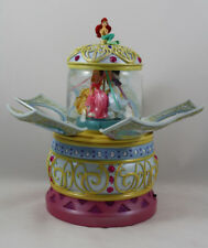 Disney Princess Revolving Musical Water Globe, Ariel, Aurora, Belle, Etc.