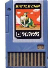 Capcom Mega Man Japanese PET Twin Fang 2 Battle Chip #070