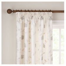 John Lewis Pemberley Rose Oyster Lined Pencil Pleat Curtains 228cm x 182cm