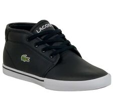 New Lacoste Ampthill LCR Men's Leather Lace up casual Fashion Shoes Sneakers