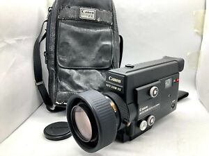 【Read】Canon Auto Zoom 512XL Electronic Super 8 8mm Movie Film Camera from Japan