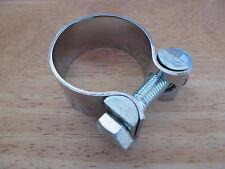 """70-7512 1 3/8"""" Triumph T100 T120 T140 Silencieux D'échappement équilibre Pipe Clamp Clip"""