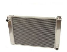 """New Fabricated Aluminum Radiator 31"""" x 19"""" x3'' Overall For SBC BBC Chevy GM"""