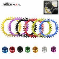 SNAIL 104bcd 30T MTB Bike Chainring Narrow-Wide Round Cycling Chainwheel Disc