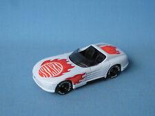 Matchbox Sunburner Dodge Viper White Body Rare UB USA Sports Car