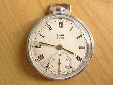 MOLNIJA SLAVA PRECISION Soviet USSR POCKET WATCH 1967