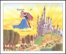 Granada 1987 Disney/Dormir Belleza/castillo/películas/Dibujos Animados IMPERF m/s d00281