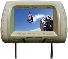 """Tview T726PLTAN 7"""" Tft/lcd Car Headrest With Monitor Pairtan"""