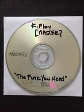 RARE 'MASTER' K.Flay Music Video Debut Track, The Funk You Need (CD) 2007 SIGNED