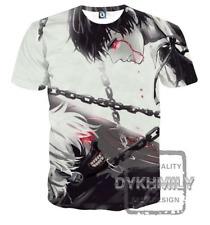 New Fashion Women/Men Tokyo Ghoul Anime 3D Print Casual T-Shirt JK1580