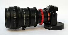 Cinematics modified cine sigma 50-100 pl mount for Sony f55 fs7 red raven ursa