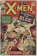 Uncanny X-Men (1st Series) #7 1964 Blob appearence