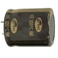 Electrolytic Capacitor Low Profile Snap-in 105 Deg.C 2200uf 63v Condenser