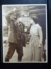 1915 GENE OF THE NORTHLAND - RARE EX CON VERTICAL LOBBY CARD - SILENT WESTERN