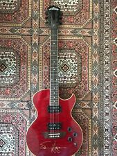 WASHBURN RR150 Rare Guitar NEW SAMMY HAGAR Autographed Signed Trans Red OHSC