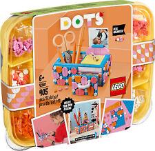 41907 LEGO Dots bureau organisateur stationnaire Make-up Tidy Set 405 Pièces 6+ ...