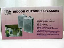 Tic Indoor Outdoor Speakers Asp100- 50 Watt- 6 Ohms-Patio Speakers