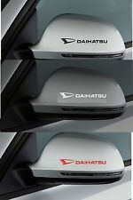 For DAIHATSU -  2 x Wing Mirror -  CAR DECAL STICKER ADHESIVE -  100mm long