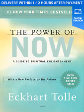 The Power of Now A Guide to Spiritual Enlightenment (read description)