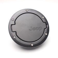 New ABS Black Gas Tank Cap Cover Fuel Filler For 07-14 Jeep Wrangler JK 2 Door