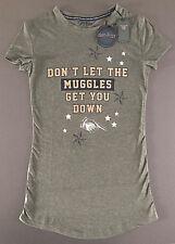 Harry Potter Muggles Damen Nachthemd Pyjama Schlafshirt Big-Shirt XS-XL Primark