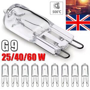 10 X G9 LED HALOGEN BULBS 25W/40W/60W WARM WHITE FILAMENT LAMP REPLACE BULB UK