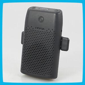 Nokia HF-210 Mobile Phone Speakerphone – black Speakers with handle Car Kit