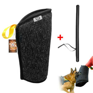 K9 Dog Bite Sleeve Intermediate Arm Protection Pet Training Whip Agitation Stick