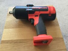 "Snap on 18v lithium 1/2"" drive impact wrench gun cteu8850Ao"