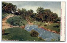 Early 1900s Japanese Garden, Como Park, St. Paul, MN Postcard