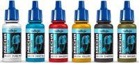 AV Vallejo Mecha Color CHOOSE ANY 5 X 17ml BOTTLES ROBOT FIGURES AIRBRUSH PAINT