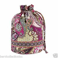 NWT Vera Bradley Ditty Bag Very Berry Paisley essentials everything 10132 063 BE
