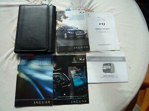 JAGUAR XJ X351 HANDBOOK PACK AND WALLET 2010 ONWARDS
