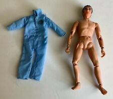 "Vintage 1971 MEGO Action Jackson Figure Blue Overall Uniform 8"" Toy Doll"
