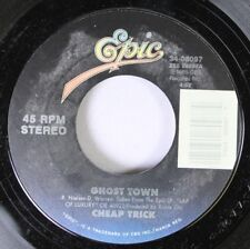Rock 45 Cheap Trick - Ghost Town / Wrong Side Of Love On Epic