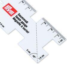 Prym, 610732 Saummaß, 45°- und 90°-Winkelmarkierung, Transparent