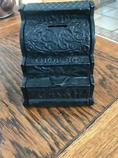 "antique J & E Stevens cast iron ""Junior Cash Register"" bank"