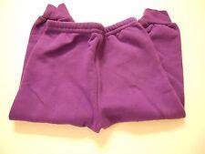 Girls Fleece Pants Size 3T Purple