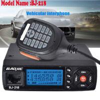 BJ-218 128CH Mini Mobile Car Radio Transceiver VHF/UHF Dual Band Walkie Talkie