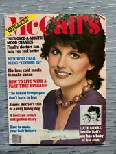 McCall's Magazine - Lucie Arnaz on cover, July 1981. good condition.