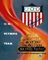 Jerry Lucas Signed 8X10 Autograph Photo Olympics Rome 1960 Team USA w/COA