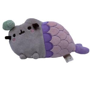 Gund Pusheen SPIRAL SHELL MERMAID 7-Inch Plush Cat Kitty