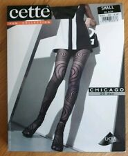 Cette Fun Collection Black fancy pantyhose - CHICAGO 20 den Size Small